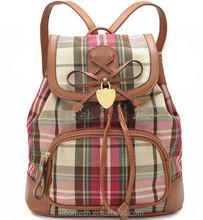2014 canvas ladies backpack new design Women's Handbags