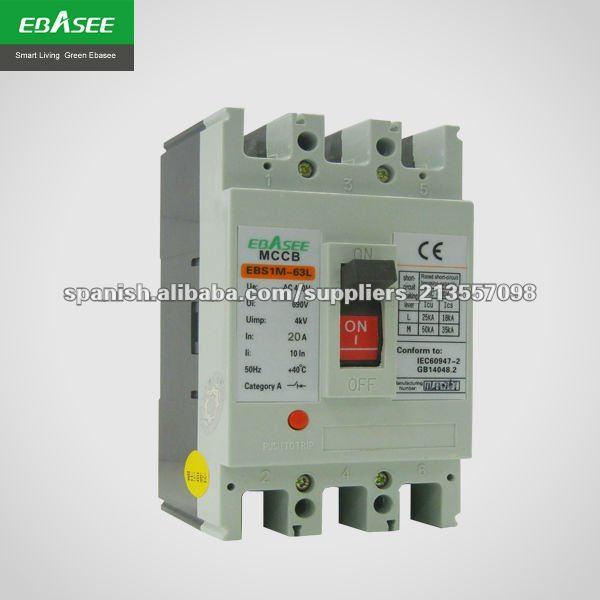EBS1M Interruptores en caja moldeada