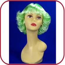 green short fashionable lady party wig Synthetic Wigs PGW-1897