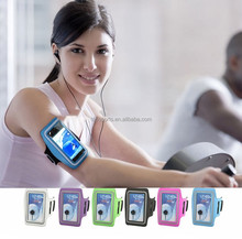 Factory direct sell outdoor sport running waterproof phone armband case holder