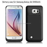 4200mAh External Battery Case For Samsung Galaxy S6 power case