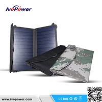 fast charging solar cell phone charger, for iphone and ipad 2.5hours