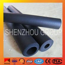 El sistema de climatización de espuma de goma del tubo, aislamiento térmico de espuma de goma de la tubería