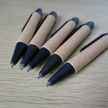 Friendly short paper pen,promational stylus ballpen, recycled stylus gift pen