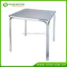 Factory direct sale aluminium table