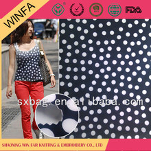 Latest Design Fabric Manufacturer Cheap Knitted stretch polyester swimming wear fabric