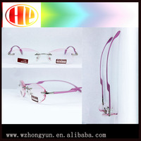 Aluminium CR-39 high quality metal colored reading glasses 2015