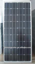 High efficiency 140W monocrystalline solar panel with best price