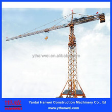 50t types of tower crane specification