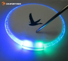 led luminous round cheap cup coaster