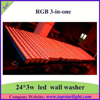 Customize 24*3W Led Wash Light Stage Light For Theater/Stage