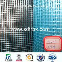 waterproof resin coated fiberglass mesh cloth / fireproof fiberglass mesh for wall material