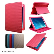Kakusiga professional flip leather waterproof cover case for ipad air 2 tablet case guangzhou
