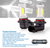 Made In China High Power Auto Lamp 9006 Car Led Lighting Led Fog Light