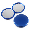 Fancy pocket mirror round, double sided plastic compact mirror