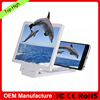 Cell phone 3D Enlarged screen magnifier cell phone stand for lazy people