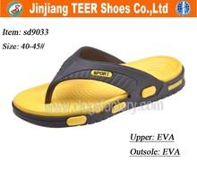 2015 EVA garden sport clogs flip flop slippers men