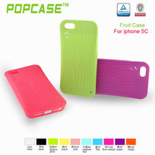 2013 unique design watermelon TPU case for iphone 5c
