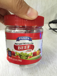 Halal Food Seasoning Powder Chicken/Beef/Shrimp/Tomato/BBQ Bouillon cubes seasoning soup[POWDER]