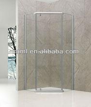 CAML Corner entry round corner customed made shower enclosure