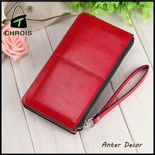 wholesale elegance ladies leather travel wallet bag