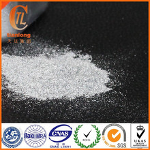 Silver aluminum decorative pigment for metallic powder coating paint
