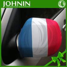 cars accessories country flags printing hot sale promotion fabric side mirror covers