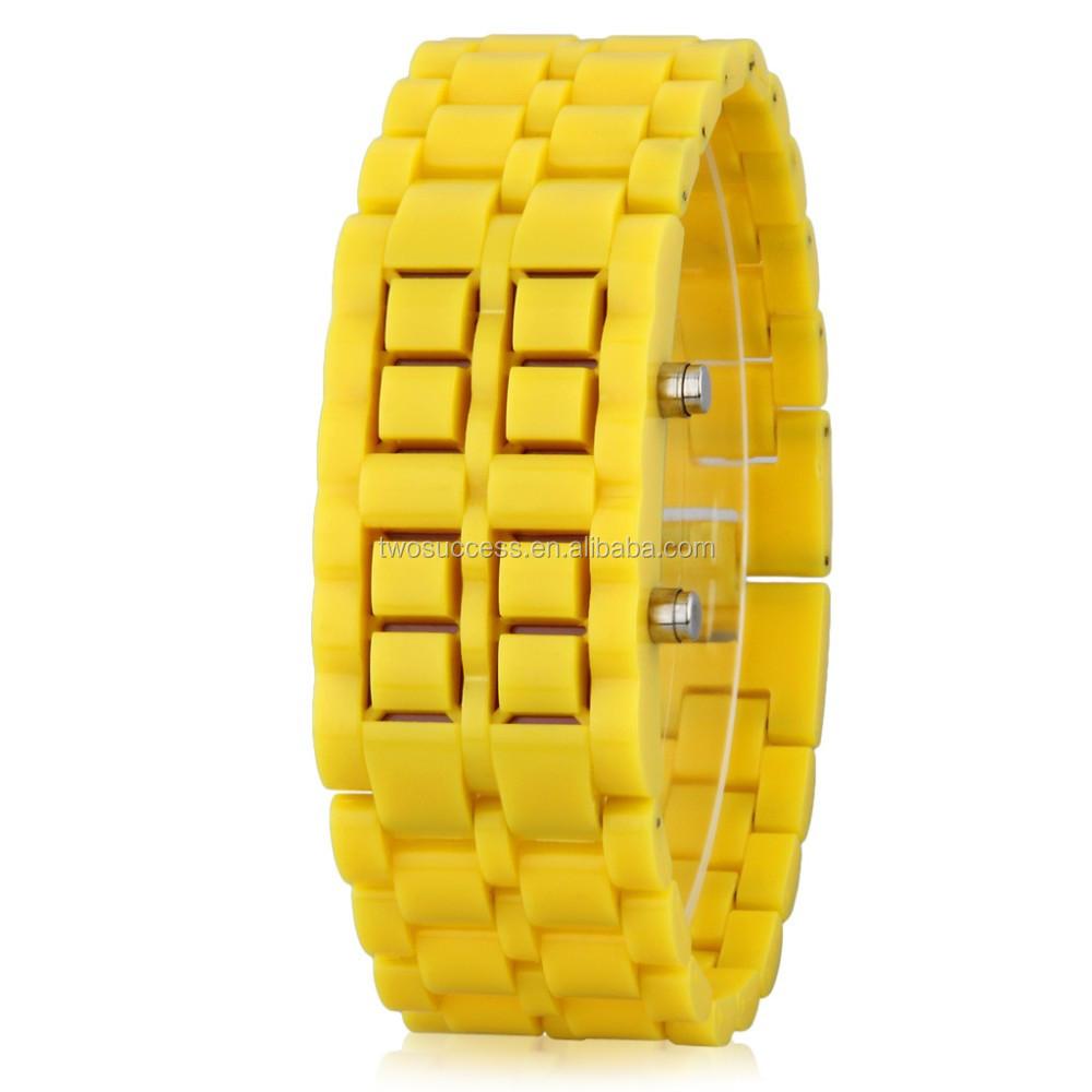 Lava LED chain watch (7)