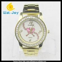attractive butterfly case high quality quartz fashion men alloy watch(WJ-3410-1)