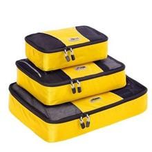 Travel Packing Organizer Bag Mesh Organizer Cubes 3in1 packing cubes