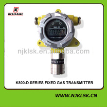 Hot! K800 Fixed Hydrogen Sulfide H2S monitor detector for Iron and steel industry