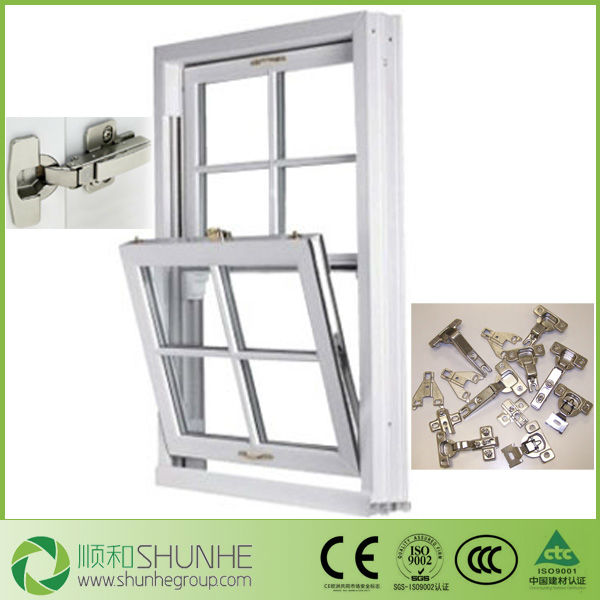 High Quality And Resonable Price Double Hung Upvc