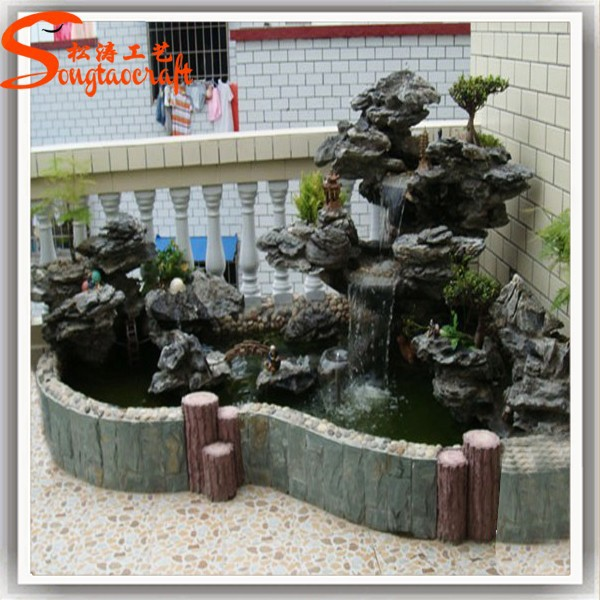 Indoor artificial decorative waterfall fountain view for Indoor gardening market size