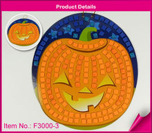 pumpkin halloween foam mosaic kit