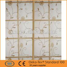 2013 venta caliente cocina embrodiery estilos de cortinas