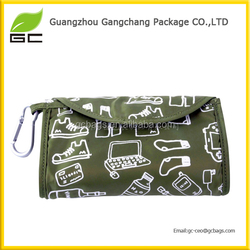 China 2014 promotional wholesale fold up shopping reusable polyester bag