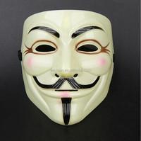 50pcs Hot V for Vendetta Anonymous V vendetta team guy fawkes masquerade Halloween carnival Mask DHL Freeshipping