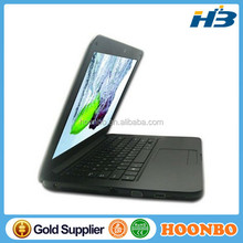 2013 Ultra thin 13.3 inch mini laptop notebook 4G DDR3 500GB computer Win 7 Intel D2500 Netbook