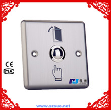 Electric Door Strike Push Release Button