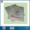 Plastic bags die cut pharmacy/medicine handle hospital package