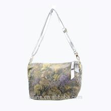 Best sale in China high quality fashion style flower lady shoulder bag handbag