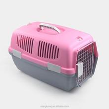 plastic pet dog carrier outdoor dog cage for sale