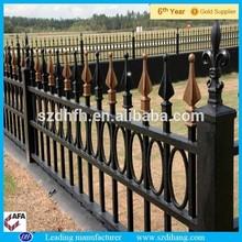Vallas de hierro forjado/utilizado de hierro forjado de esgrima/galvanzied esgrima