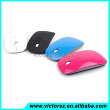 Colorful Mice 2.4G USB Bluetooth Receiver Super Slim Adjustable Wireless Mouse