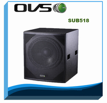 Professional acoustic 18inch 700W RMB at 8ohm passive subwoofer