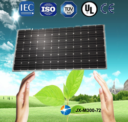 China top solar panels, high efficiency, best quality and good service, mono type, 300w for home and industry