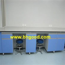gray color laboratory work bench/chemistry lab tables