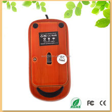 new product global initialized wired bamboo mouse in yellow color