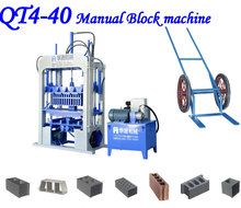 The leatest price of QMJ4-35 foam concrete block machine
