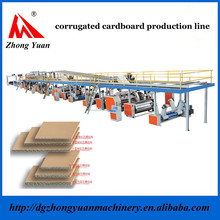 Wholesale good quality corrugated cardboard produciton line used